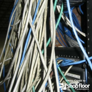 Bad Cabling for Shop Floor
